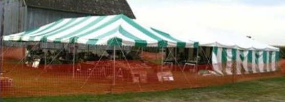 Smalley Auction & Real Estate Company - tent